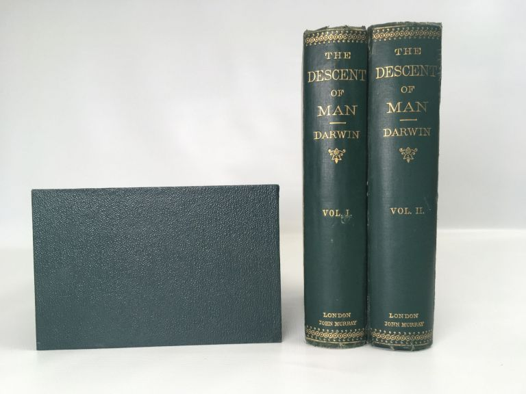 The Decent of Man; and the selection in relation to sex. Darwin Charles.