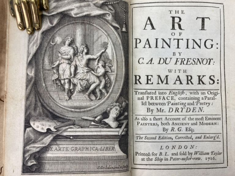 The Art of Painting, Translated into English. Charles Alphonse Du Fresnoy.