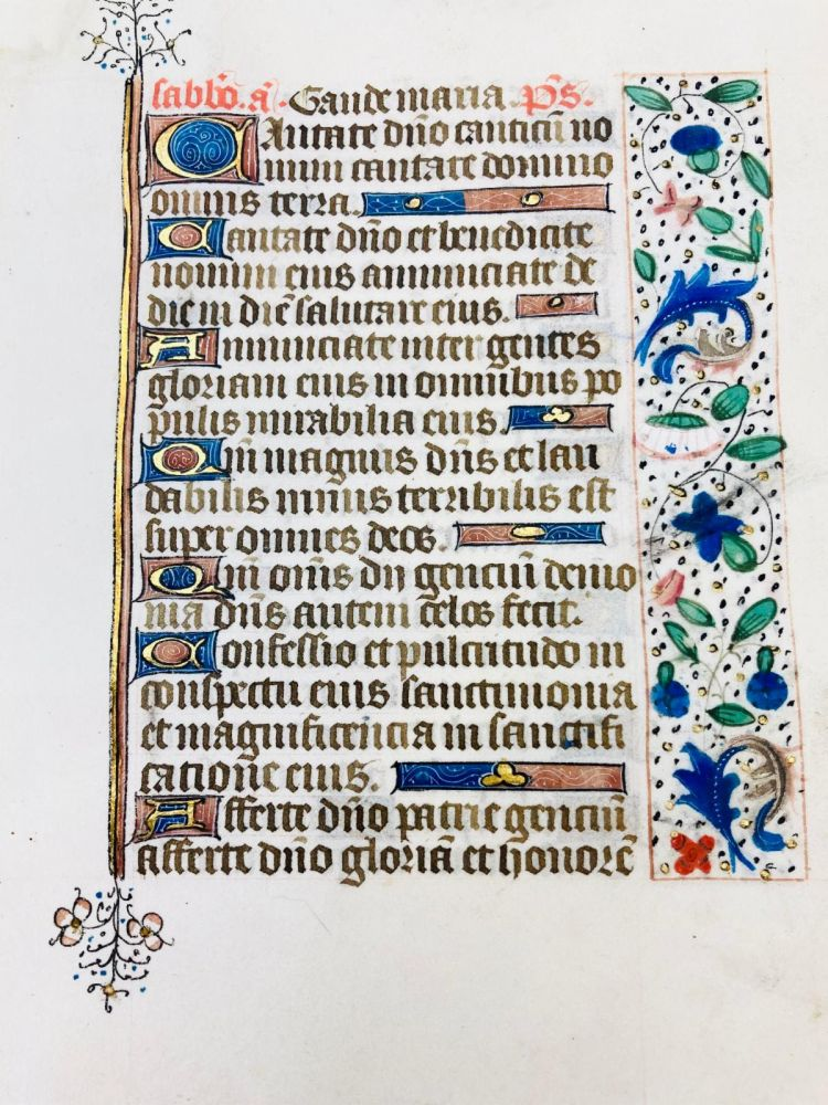 Pages From the Book of Hours
