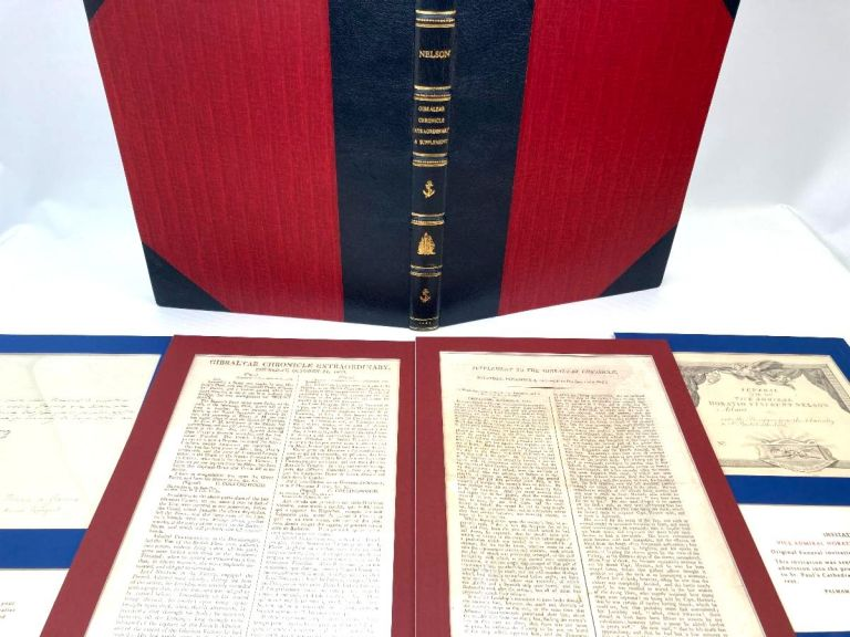 First Printed Account of the Battle of Trafalgar and News of Nelson's Death.