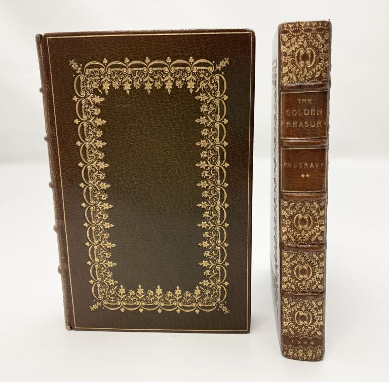 The Golden Treasury & The Golden Treasury Second Series; Selected from the Best Songs and Lyrical Poems in the English Language and Arranged with Notes. Francis T. Palgrave.