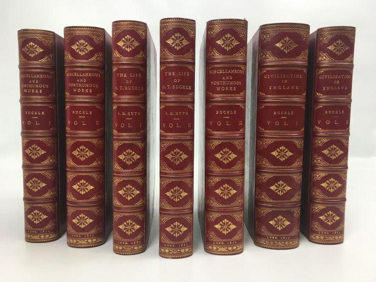 Miscellaneous and Post-Humous Works (6 vol). Henry Thomas Buckle.
