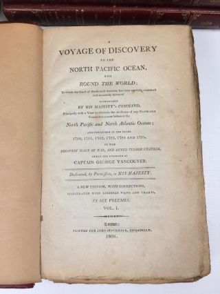 A Voyage of Discovery to the North Pacific and Around the World