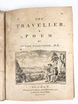 The Traveller: A Poem. Oliver Goldsmith