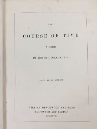 The Course of Time; A Poem. By Robert Pollock