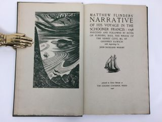 Matthew Flinder's Narrative of this Voyage in the Schooner Francis