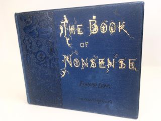 Book of Nonsense; Illustrated. Lear Edward