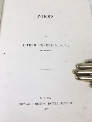 Poems of Alfred Tennyson, D.C.L