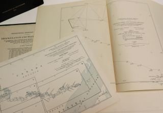 International Boundary Commission Triangular and Traverse Sketches