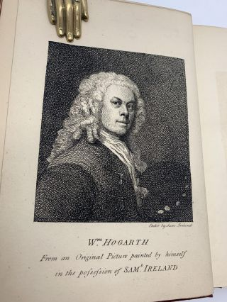 Graphic Illustrations of Hogarth; From Pictures, Drawings and Scarce Prints in the Possession of Samuel Ireland
