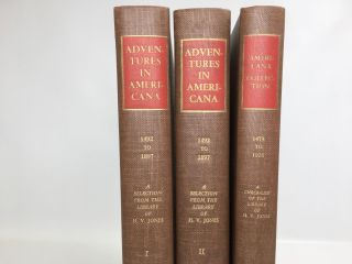 Adventures in America 1492 - 1897. Jones Herschel V