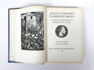 Julius Caesar's Commentaries : A Modern Rendering