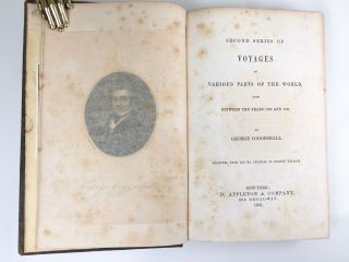 Voyages to Various Parts of the World Made Between the Years 1802 - 1841. George Coggeshall