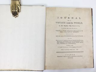 A Journal of Voyage Round the World; In His Majesty's Ship Endeavour, in the Years 1768, 1769, 1770 and 1771.