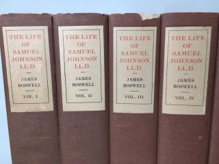The Life of Samuel Johnson and Journal of a Tour to the Hebrides. 10 Vols.