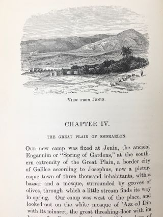 Tent Work in Palestine; A Record of Discover and Adventure