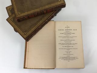 The Life of Samuel Johnson 4 Vols.; LLD Comprehending an Account of His Studies and Numerous Works, in Chronological Order; A Series of Epistolary Correspondence and Conversations with Many Eminent Persons; and Various Original Pieces of His Composition, Never Before Published
