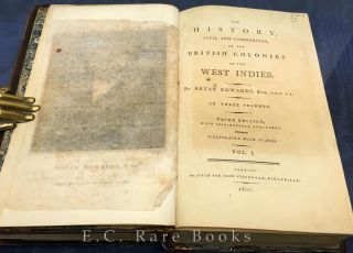 The History, Civil and Commercial of British Colonies in the West Indies.